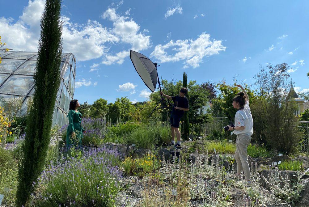 Akademie Graz Kultur inklusiv Fotoshooting Botanischer Garten