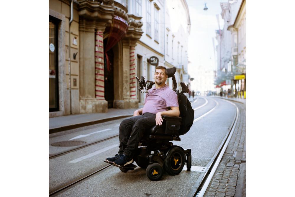 Akademie Graz Kultur inklusiv Inklusionsbotschaft Matthias Grasser