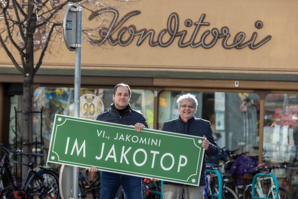 Klaus Strobl Markus Mörth Cafe Jakomini Im Jakotop