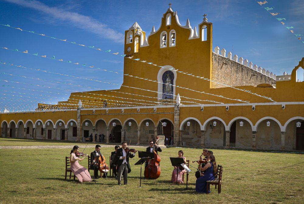 Grazer Universitaetsorchester Musik als Motor der Veraenderung Kammerorchester Fritz Kreisler Mexiko