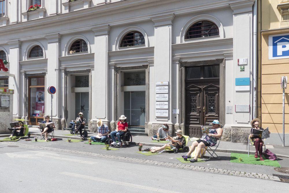 InterACT Graz 2040: Young People Acting Garten