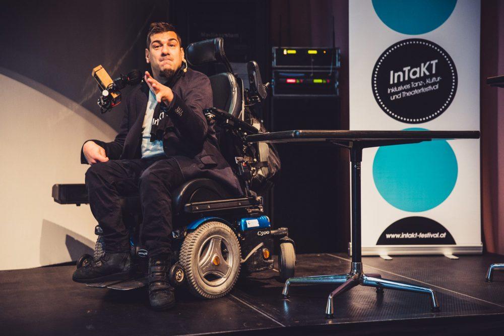 Akademie Graz Kultur Inklusiv Informationsveranstaltung Rollstuhl