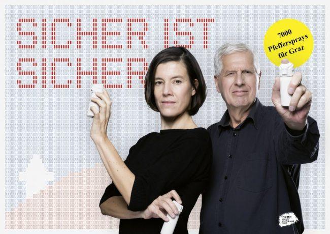 7000 Pfeffersprays für Graz Hierzegger Küberl