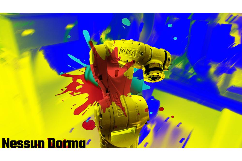 Nessun Dorma Thea Hoffmann-Axthelm Roboter