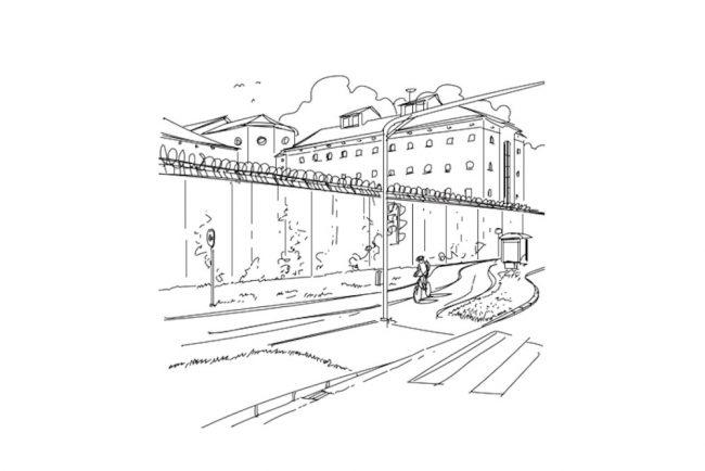 Literaturhaus Graz ausreißer wORTwechsel Zeichnung