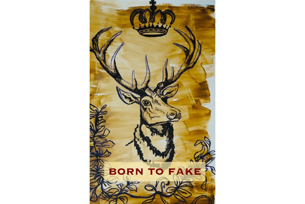 Mokino Born to fake Hirsch Krone.