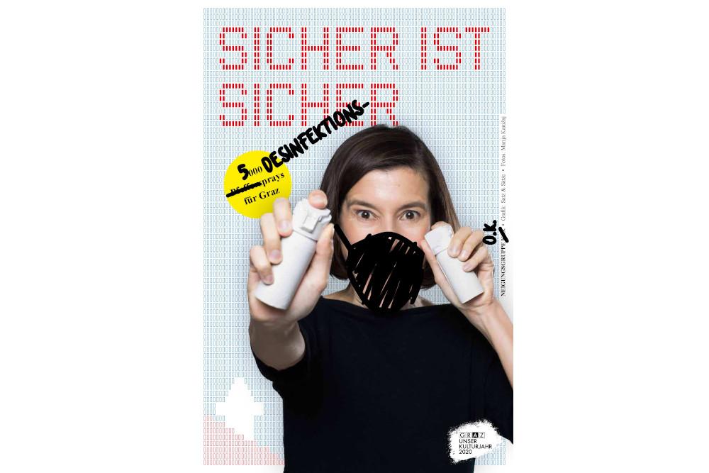 Neigungsgruppe O.K. 5000 Desinfektionssprays für Graz Pia Hierzegger