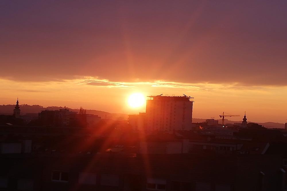 Verein Jukus Sonnenuntergang