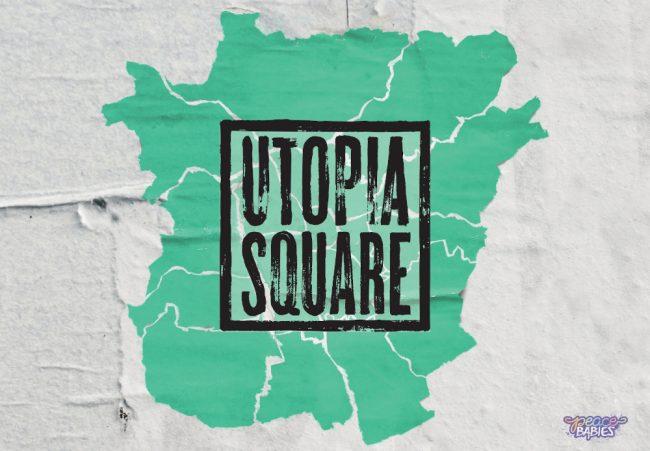 Utopia Square Peace Babies Logo