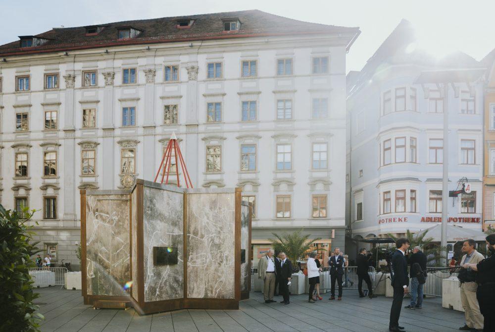 Jüdische Gemeinde Graz Mobiles Bethaus Eröffnung