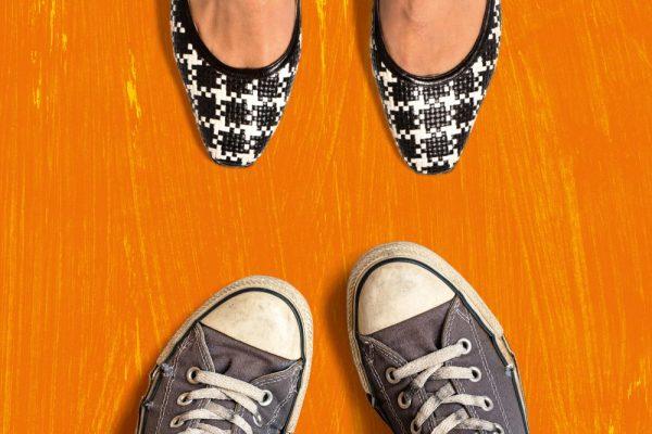 Kulturjahr 2020 Soziales Miteinander Schuhe