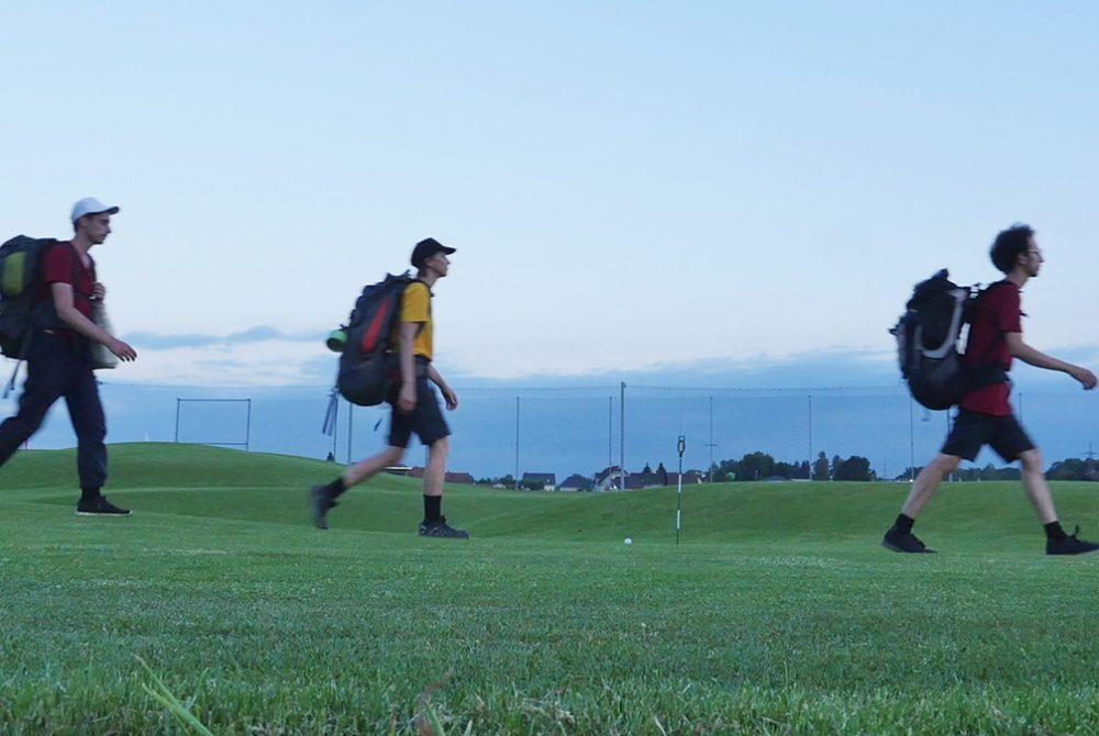 Adina Camhy GrazRand Wanderung Golfplatz