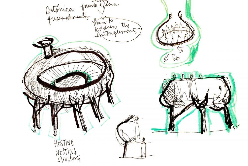 Zeichnung Homeostasis Daily Rhythms Collective