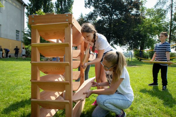 proHolz Let's GRAZe! Kinder Vertikalgarten