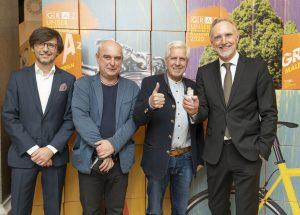 Christian Mayer, Klaus Kastberger, Franz Küberl, Günter Riegler / © Foto Fischer/Stadt Graz