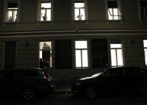 ARGE spleen*graz: 8 Fenster. Ein theatrales Vexierspiel / © Clemens Nestroy