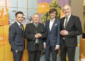 Richard Peer (Holding Graz), Wolfgang Malik (Holding Graz), Christian Mayer, Günter Riegler / © Foto Fischer/Stadt Graz