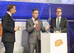 Sebastian Loudon, Siegfried Nagl, Christopher Drexler / © Foto Fischer/Stadt Graz