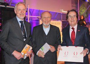 Günter Riegler, Hans-Werner Sinn, Hans Roth / © Saubermacher