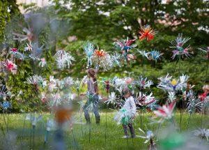 Klanglicht 2020: Flowers of Change / © Pierre Estève