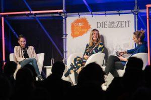Elisa Naranjo, Mimi Sewalski, Leonie Seifert / © Foto Phil Dera für DIE ZEIT
