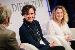 Sabine Pollak, Aglaée Degros / © Foto Phil Dera für DIE ZEIT