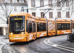 Graz-Kulturjahr-2020-Straßenbahn / © Foto Fischer/Stadt Graz