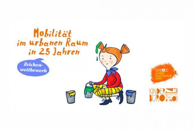 Kinderbüro Mobilität im urbanen Raum in 25 Jahren Zeichenwettbewerb
