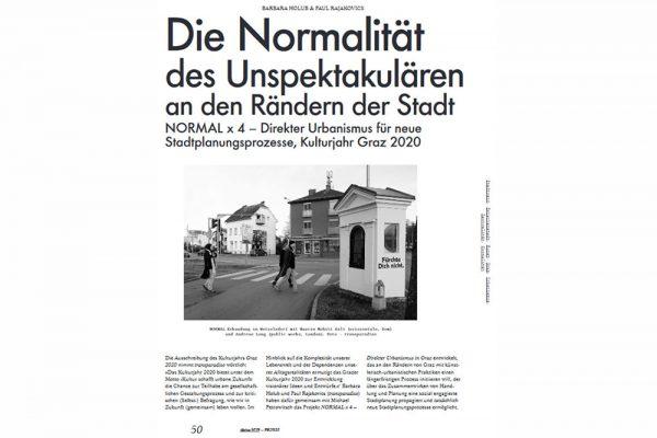 transparadiso Normal_Direkter Urbanismus x vier derive Ausgabe 79