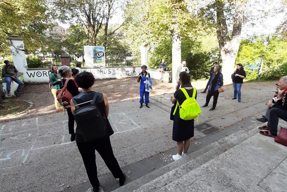 garbage.city.death Angelika Maria Fink Citywalk Heidrun Primas Forum Stadtpark