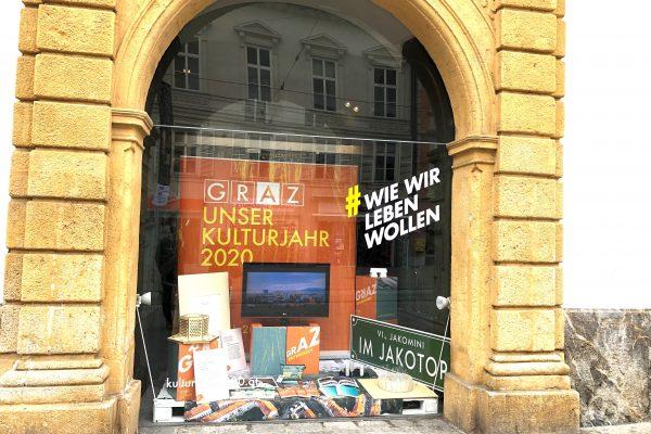 Schaufenster Graz Tourismus Herrengasse