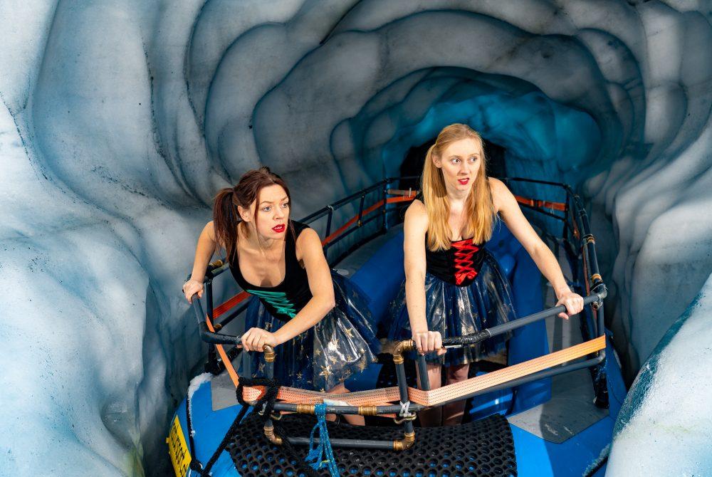 Julalena 21 Visionen für das 21. Jahrhundert Die künstlerische Herausforderung Tunnel Gondel