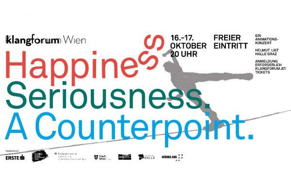 Klangforum Wien Happiness Seriousness A Counterpoint Animationskonzerte Plakat