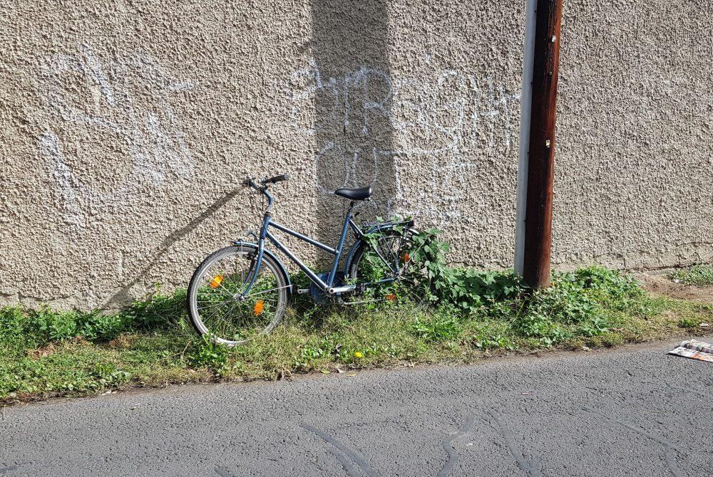 Flora Schausberger Jan Zischka Flussabwärts Ein Audiowalk rund um die Grünangersiedlung Fahrrad