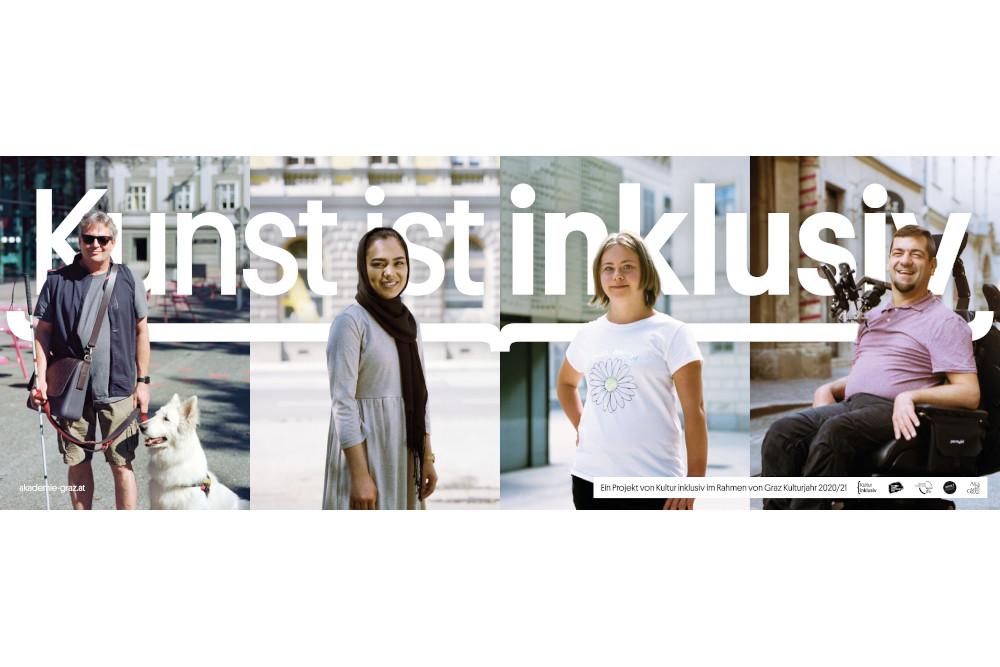 Akademie Graz Kultur Inklusiv 32-Bogen-Plakat