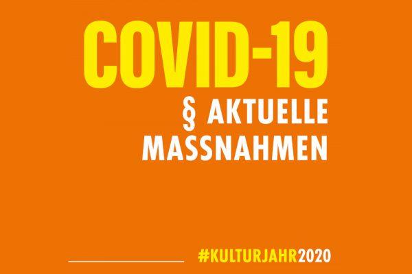 Kulturjahr 2020 Aktuelle Maßnahmen Corona
