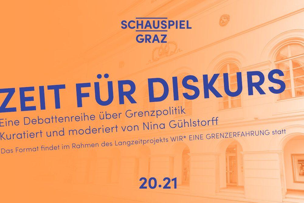 Schauspielhaus Graz Zeit für Diskurs Plakat