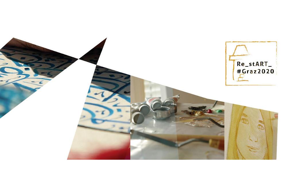Verein Jukus ReStart Graz 2020 Ausstellungseröffnung Titelbild
