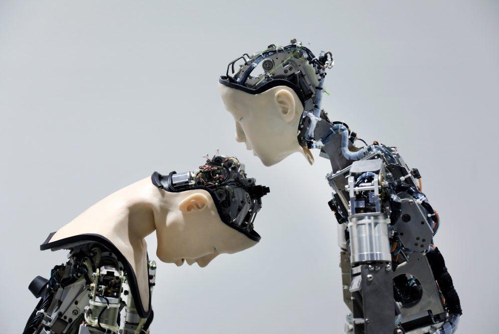 esc medien kunst labor The Birth of Robots Roboter