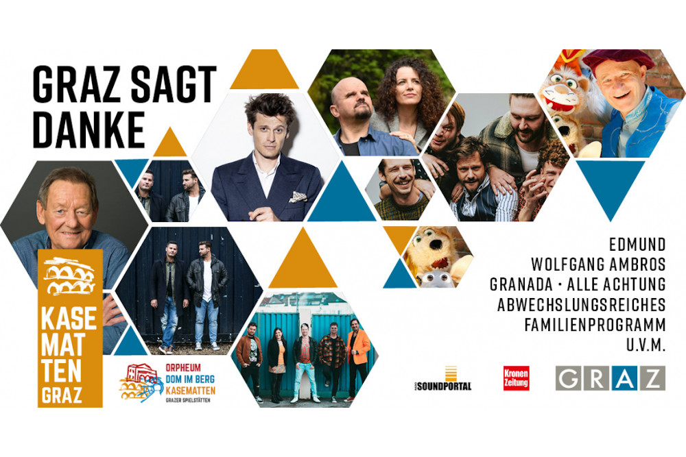 Graz sagt Danke Kasematten Stadt Graz