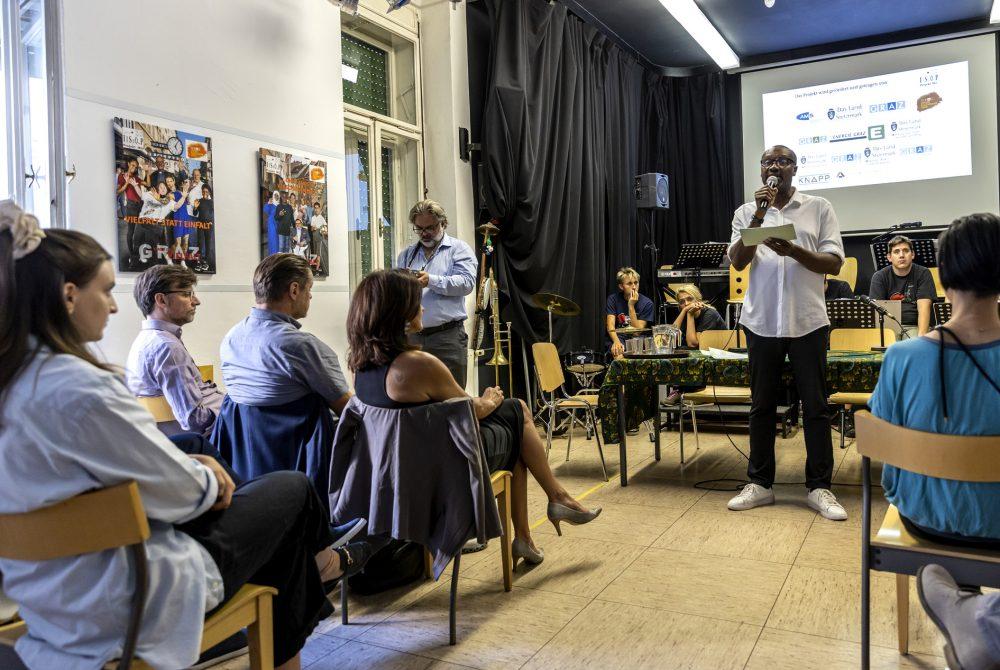 ISOP Graz als Stadt der vielfältigen Zukunft Abschluss Ansprache